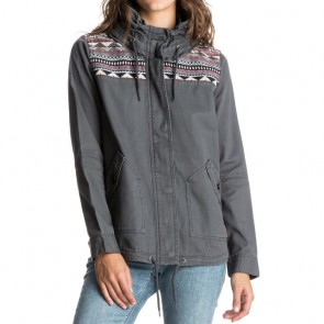 Roxy Women's Winter Cloud Jacket - Asphalt