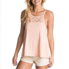 Roxy Women's Sink Or Swim Tank - Peach Nectar