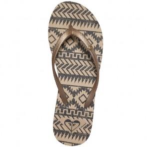 Roxy Women's Bermuda Sandals - Gold/Black