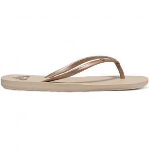 Roxy Women's Bermuda Sandals - Gold/Cream