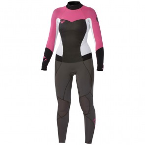 Roxy Women's Syncro 3/2 Flatlock Back Zip Wetsuit - 2014