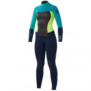 Roxy Women's Syncro 4/3 Back Zip Wetsuit - 2014