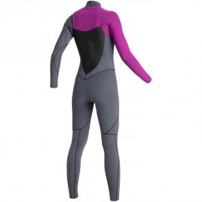 Roxy Women's AG47 Performance 4/3 Chest Zip Wetsuit