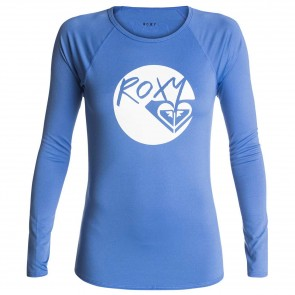 Roxy Women's Classic Long Sleeve Rash Guard - Chambray