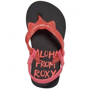 Roxy Youth Girls Fifi II Sandals - Black/True Red