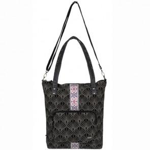 Roxy Women's Come Let Go Tote Bag - Breeze True Black