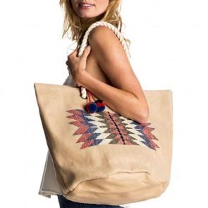 Roxy Women's Sun Seeker Tote Bag - Natural