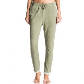 Roxy Women's Signature Feeling Jogger Pants - Olivine
