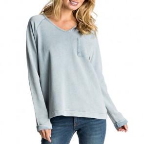 Roxy Women's Palpo Point Sweatshirt - Captains Blue