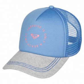 Roxy Women's Truckin Trucker Hat - Morning Sky