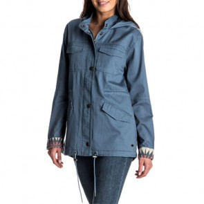Roxy Women's Sultanis Military Jacket - Captains Blue