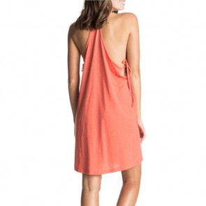 Roxy Women's Seacliff Edge Dress - Living Coral