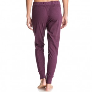 Roxy Women's California Saga Jogger Pants - Italian Plum