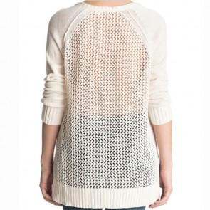 Roxy Women's A Three Hour Tour Sweater - Angora