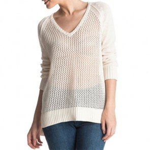 Roxy Women's A Three Hour Tour Sweater - Angora