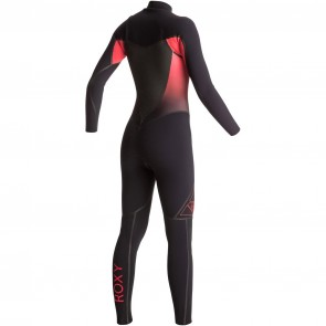 Roxy Women's Syncro Plus 4/3 Chest Zip Wetsuit