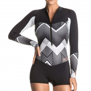 Roxy Women's Pop Surf 2mm Long Sleeve Spring Wetsuit