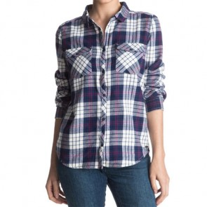 Roxy Women's Squary Cool Flannel - Scotty Combo Pristine
