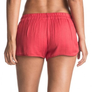 Roxy Women's Surf'N Go Beach Shorts - Hibiscus