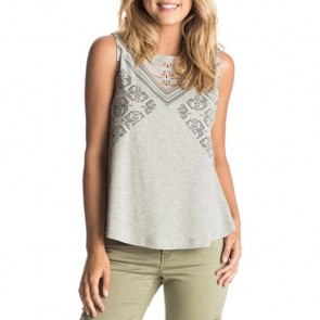Roxy Women's Aztec Rider Tex Mex Tank - Heritage Heather