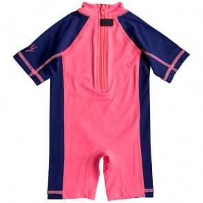 Roxy Wetsuits Infant So Sandy Spring Suit - Neon Grapefruit