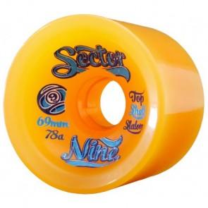 Sector 9 69mm 9-Balls Wheels - Orange