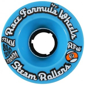 Sector 9 73mm Steam Rollers Wheels - Blue