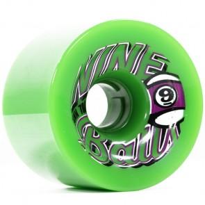 Sector 9 74mm 9-Balls Wheels - Green