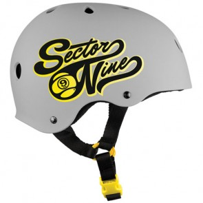 Sector 9 Rally Helmet - Grey
