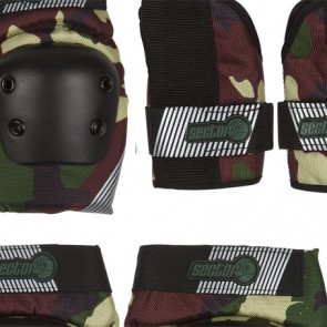 Sector 9 Youth Pursuit Pad Set - Camo