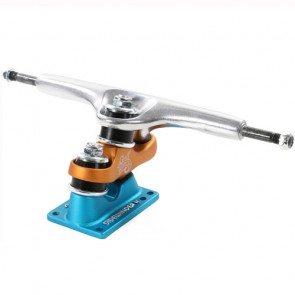 Sector 9 Gullwing 9'' Sidewinger Trucks - Raw/Orange/Blue