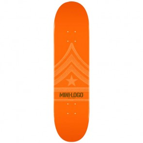 Mini Logo Quartermaster 112 Deck - Orange