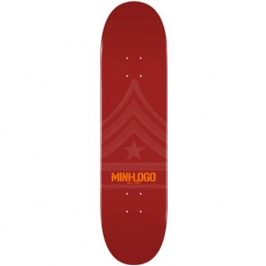 Mini Logo Quartermaster 112 Deck - Maroon