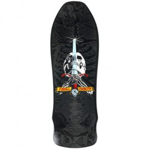 Powell Peralta Geegah Skull And Sword Deck - Black