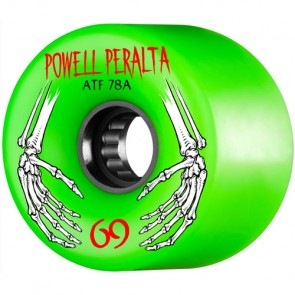 Powell Peralta 69mm ATF Wheels - Green