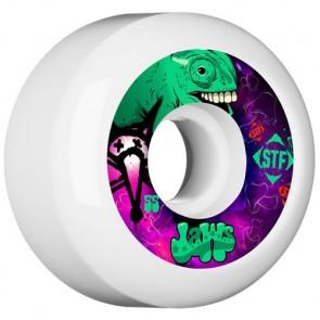 Bones 55mm STF Pro Homoki Gecko Wheels - White