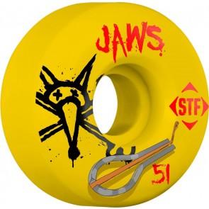 Bones 51mm STF Pro Homoki Harp Wheels - Yellow