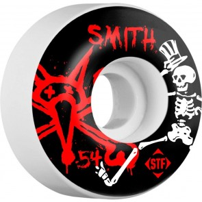 Bones 54mm STF Pro Smith Social Wheels - White