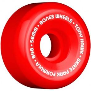 Bones 56mm SPF Pro Hawk Mini Cube Wheels - Red