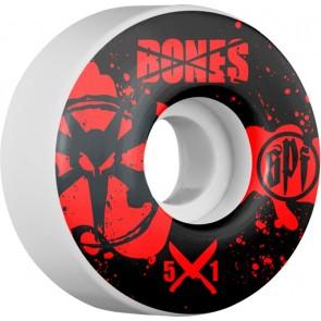 Bones 51mm SPF Crime Scene Wheels - White