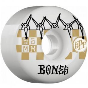 Bones 56mm SPF Tiles Wheels - White