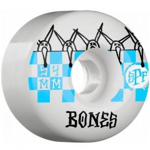 Bones 54mm SPF Tiles Wheels - White