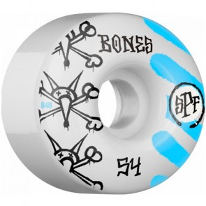 Bones 54mm SPF War Paint Wheels - White