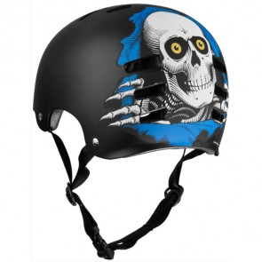Powell Peralta Evolution Ripper Helmet - Blue