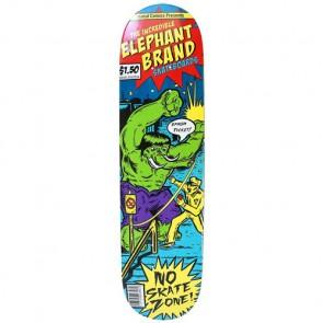 Elephant Brand Skateboards Smash Ticket Deck - Red