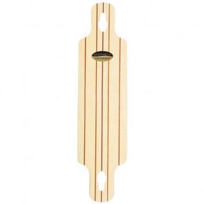 "Honey Skateboards 39"" Velocity V3 Longboard Deck - Natural"