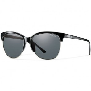 Smith Women's Rebel Polarized Sunglasses - Black/Grey
