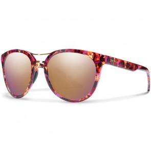 Smith Women's Bridgetown Sunglasses - Flecked Mulberry Tortoise/Rose Gold Mirror