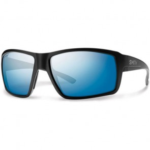 Smith Colson Polarized Sunglasses - Matte Black/Chromapop Blue Mirror