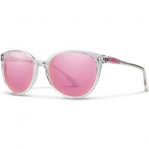 Smith Women's Cheetah Sunglasses - Crystal/Pink Mirror